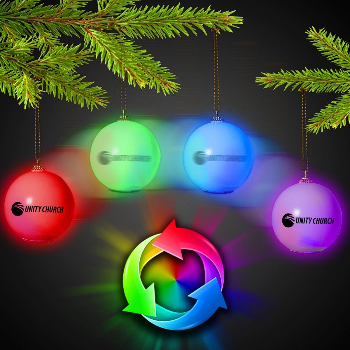 LED Christmas Ornament - Light Up Novelties