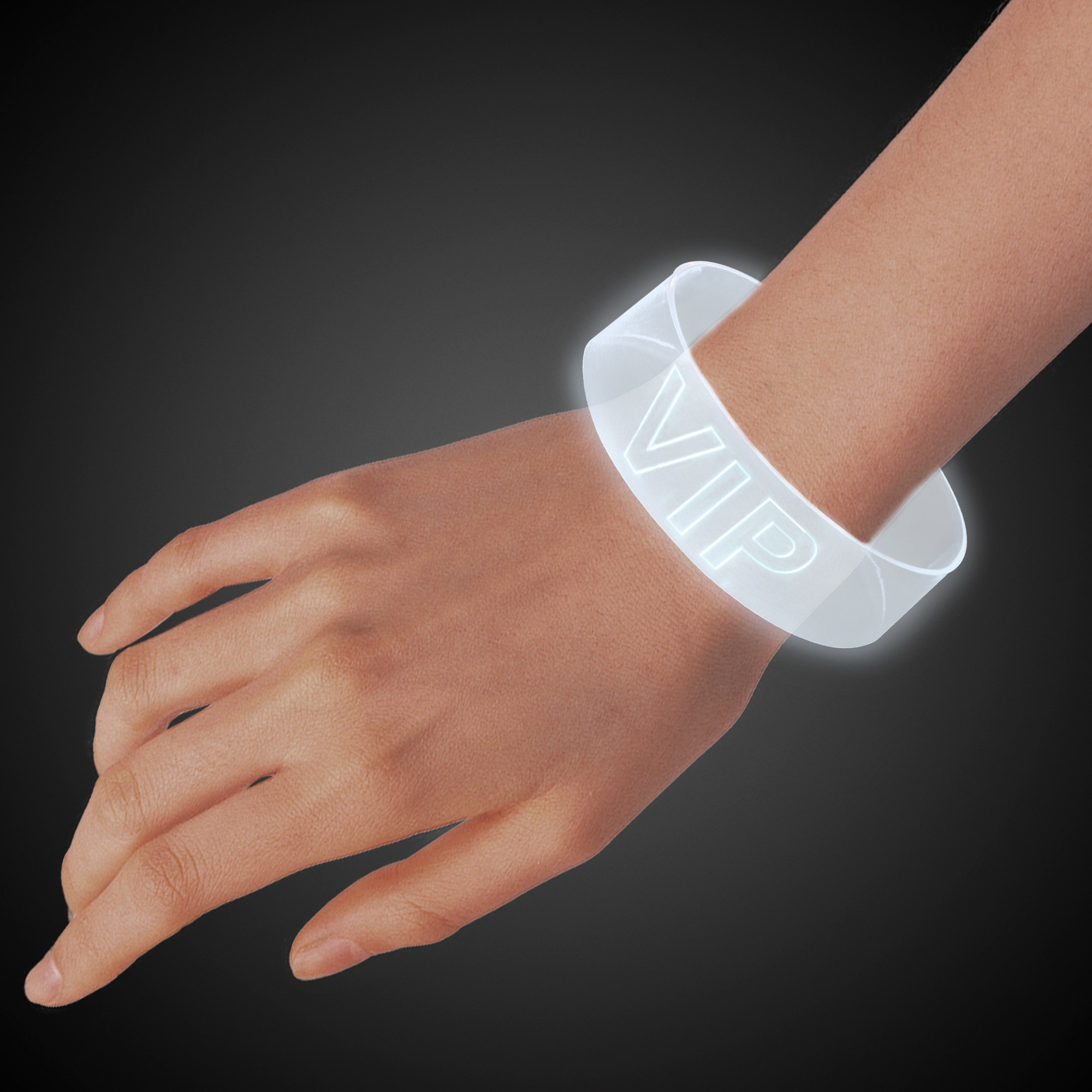 White LED Magnetic Bracelet