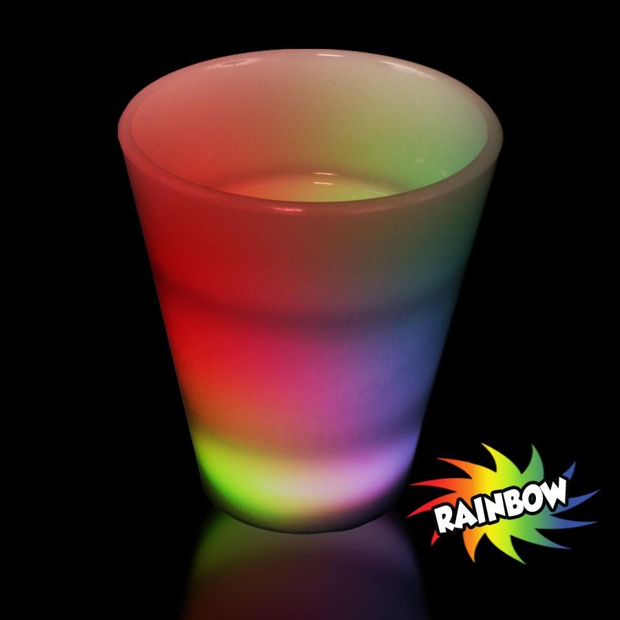 Multi Color Led Shot Glass Bar Supplies Drinkware