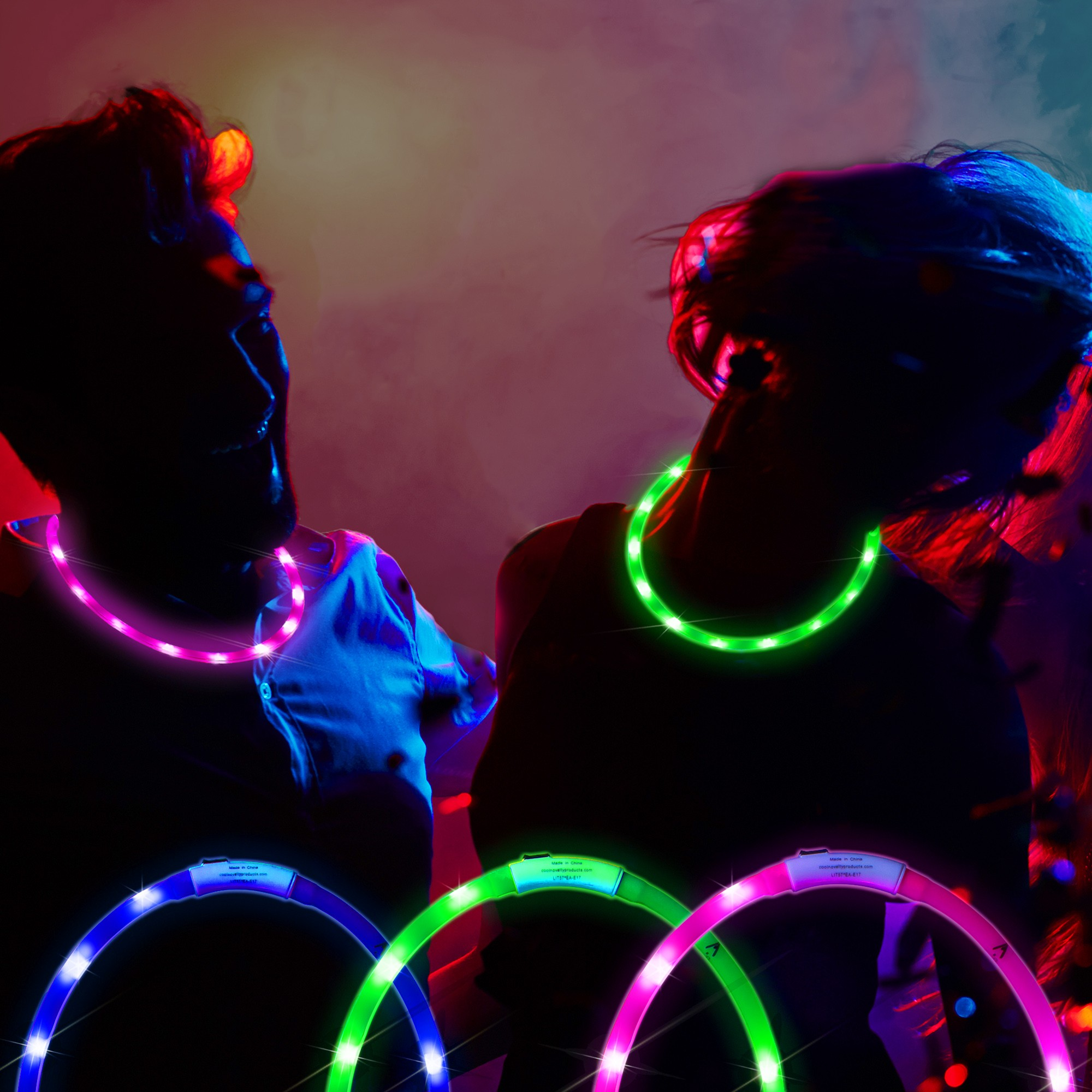 Rechargeable LED Necklaces
