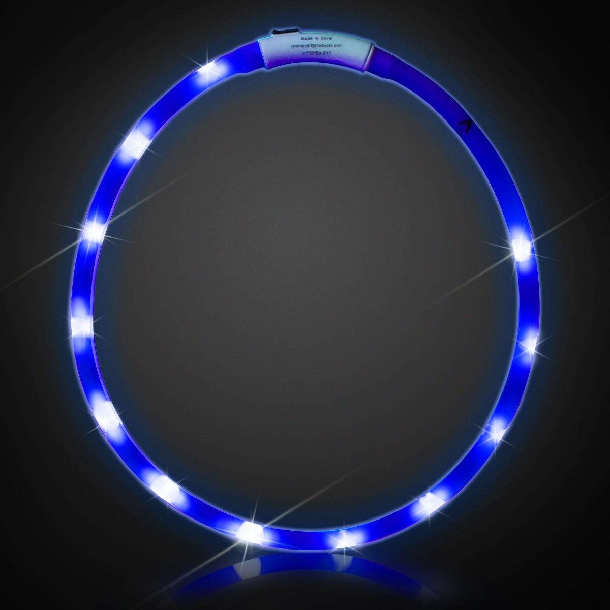 Rechargeable Led Necklaces Badges Bracelets