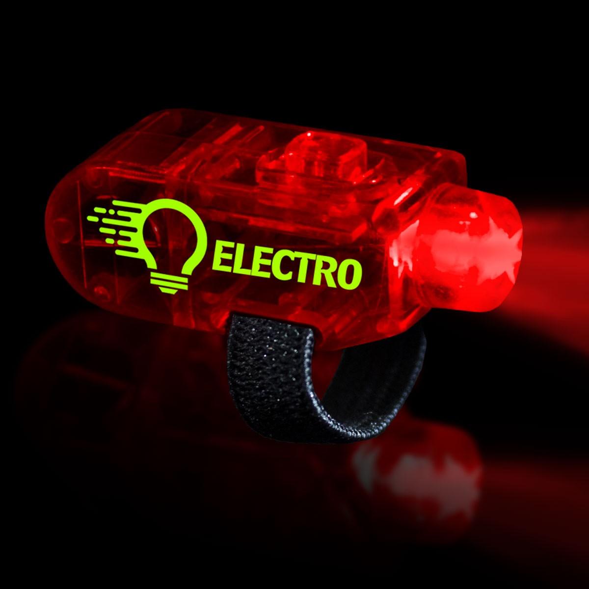 Red LED Finger Lights