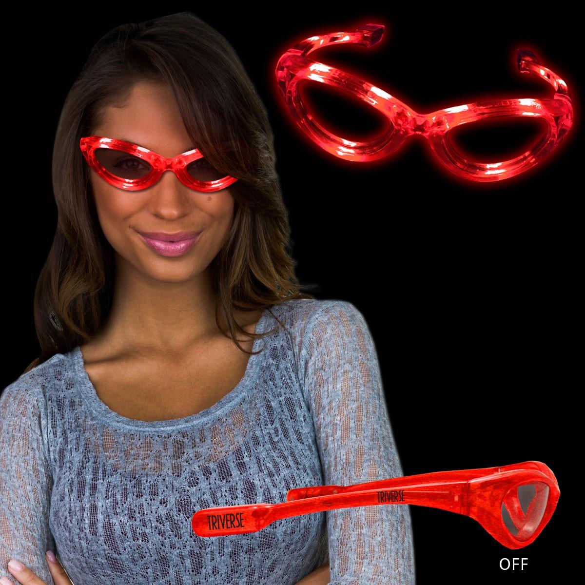 Red LED Sunglasses