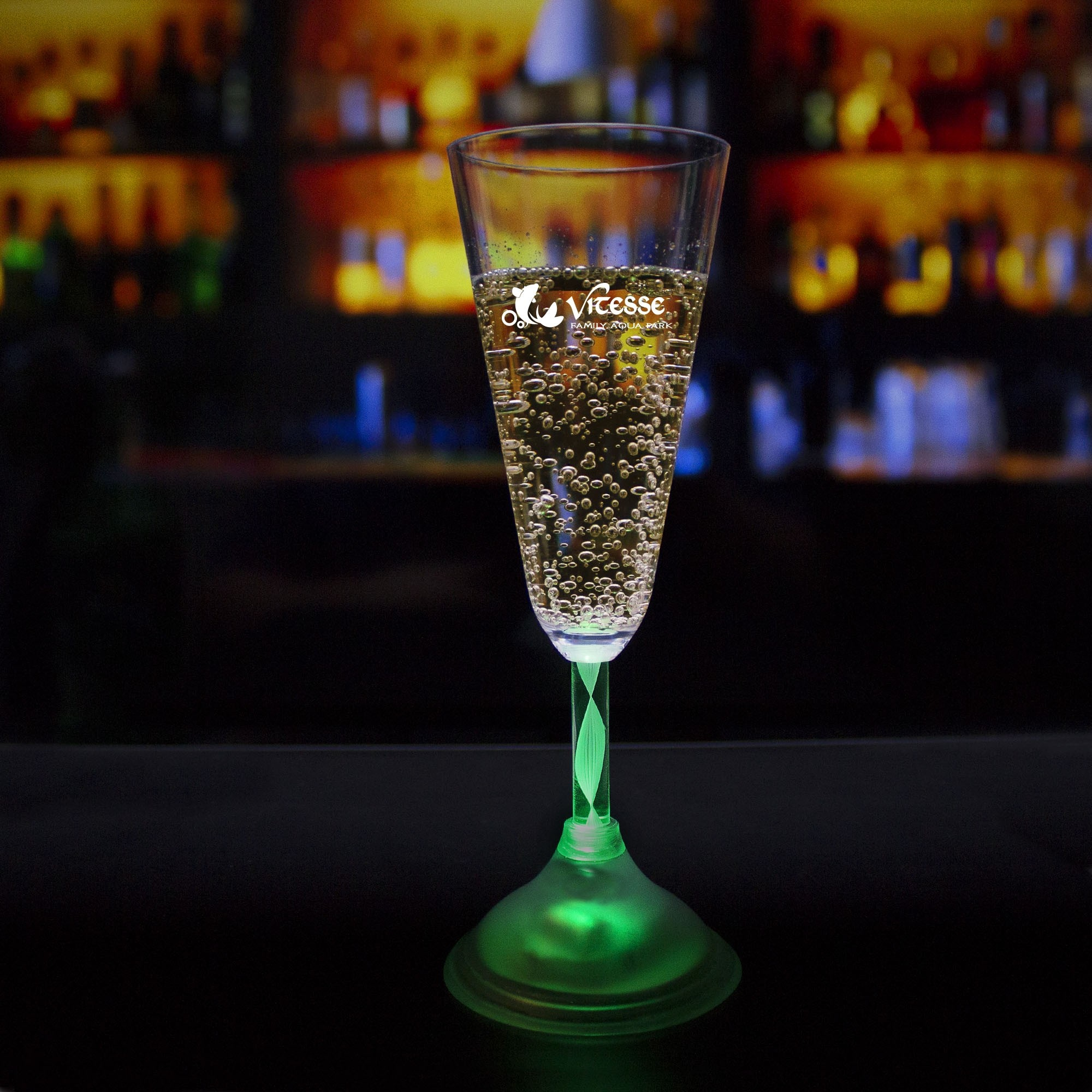 Light Up 7 1/2 Ounce Champagne Glass