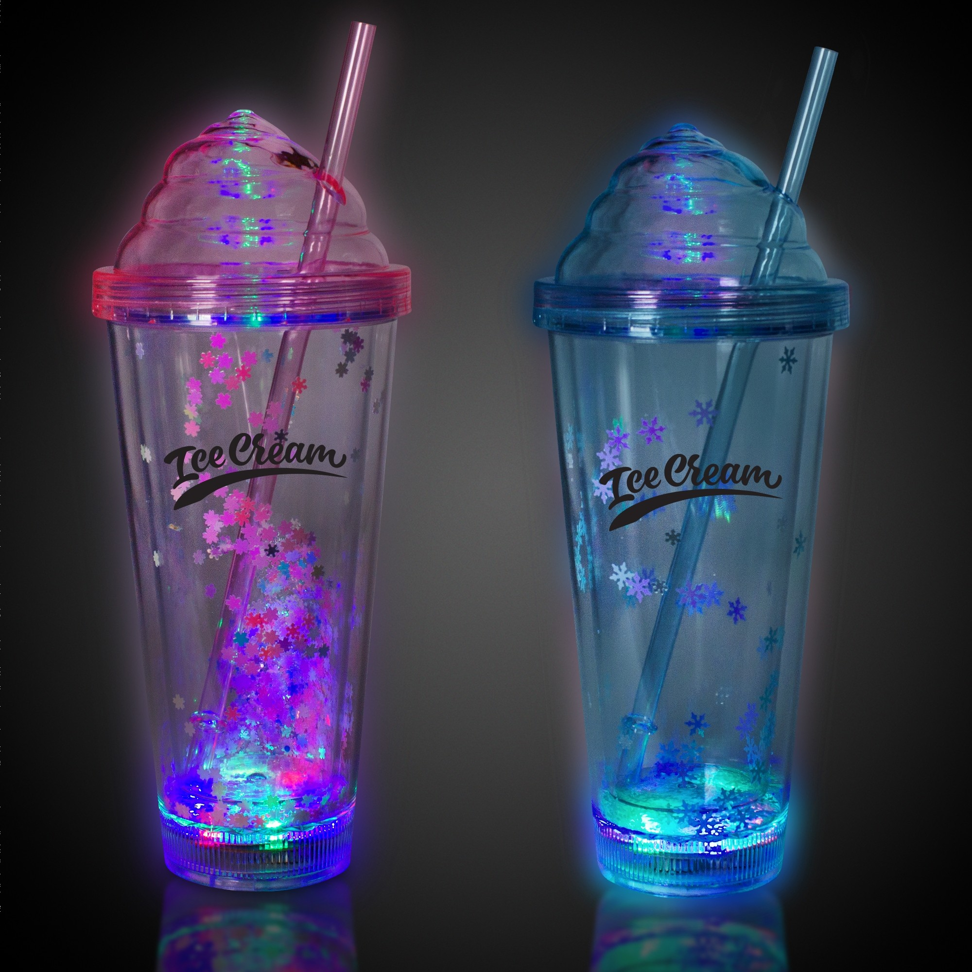 Ice Cream LED Tumblers