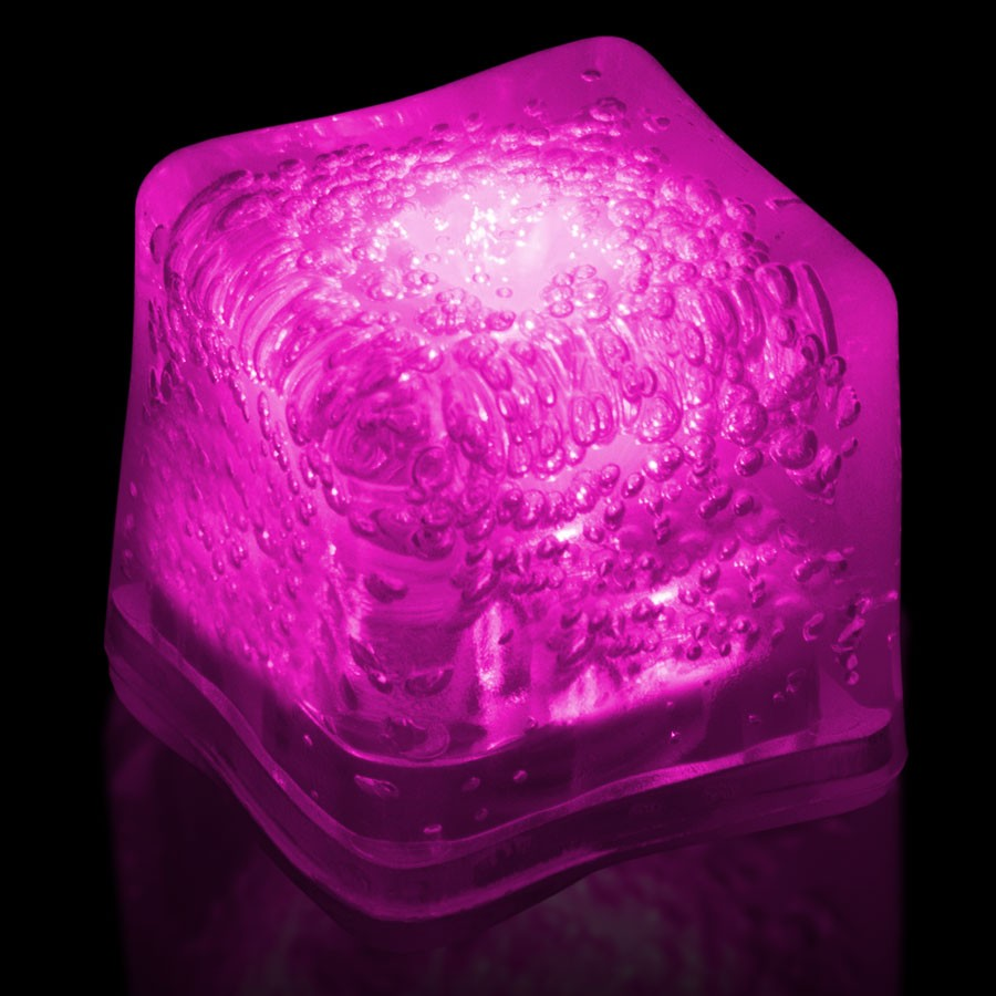 Blank PINK Lited Ice Cubes