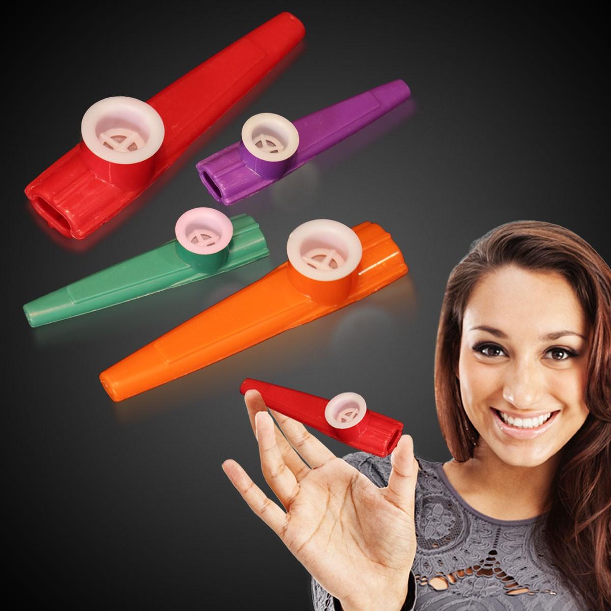 MUS032: Assorted - Red/Purple/Green/Orange
