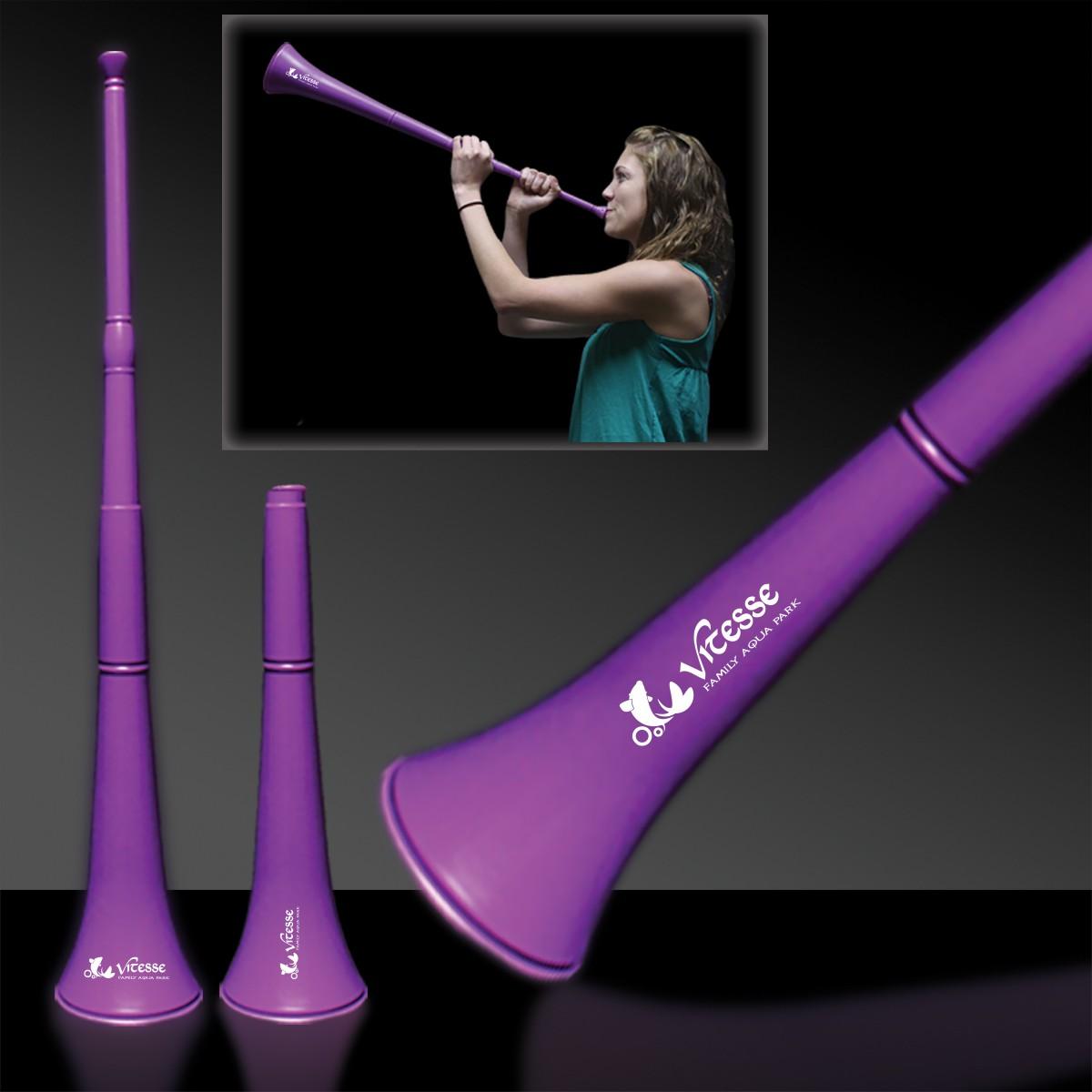 Purple Stadium Horns