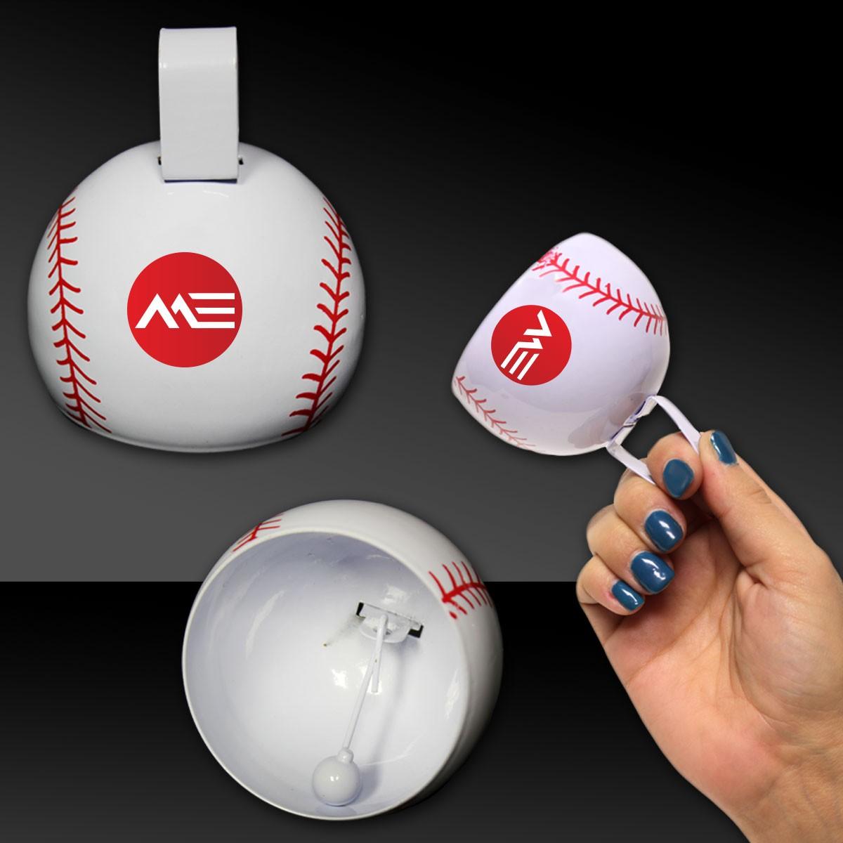 Baseball Metal Cowbells