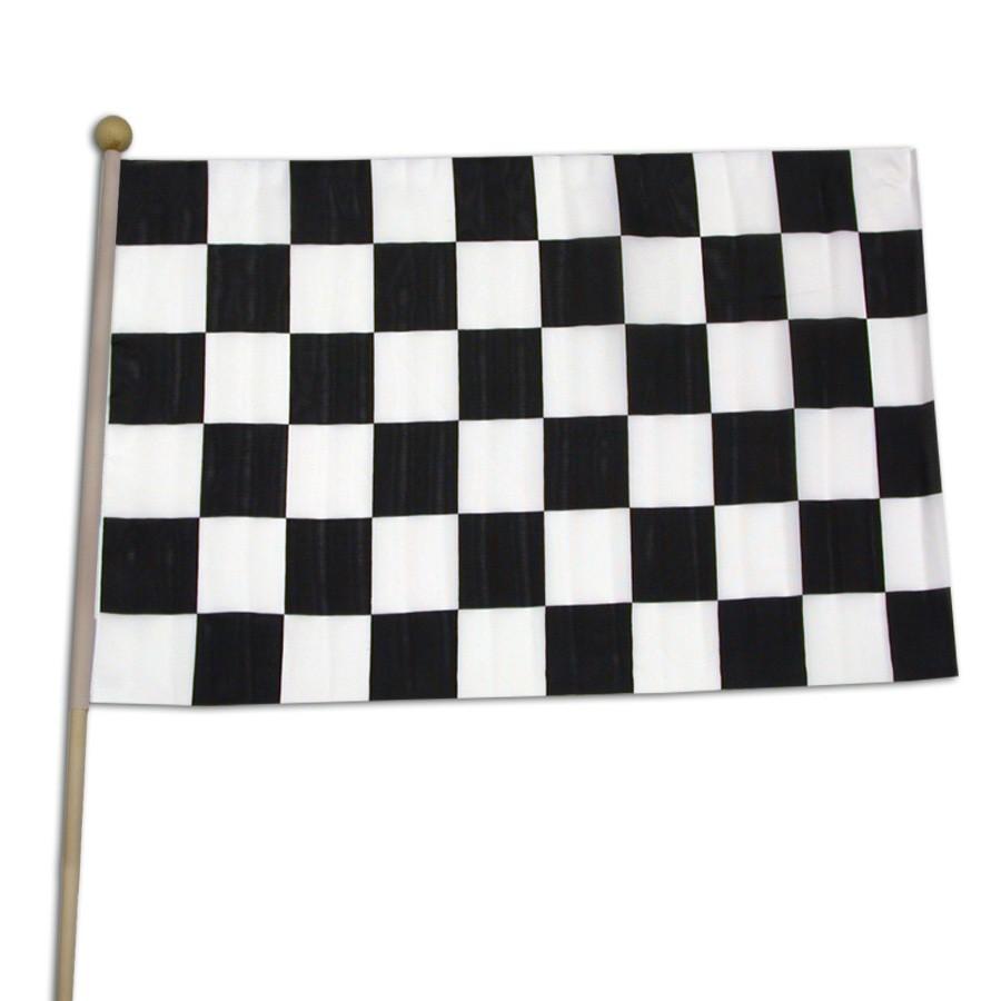 "Checkered Race Flag <br>12"" x 18""</br>"