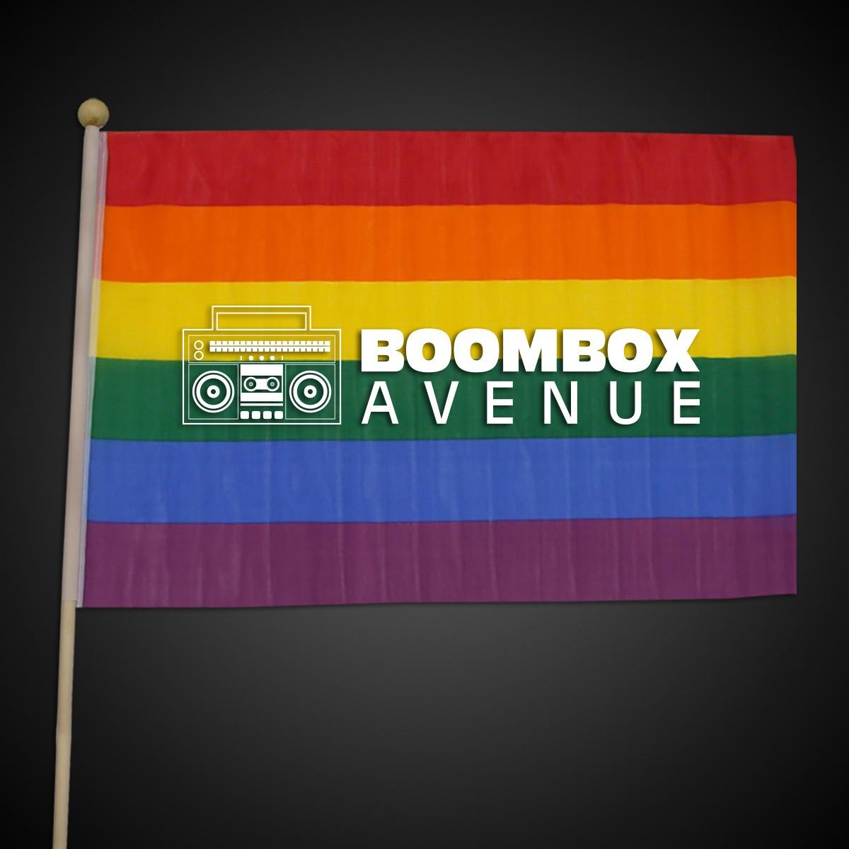 """Rainbow Flag  <br>12"""" x 18""""</br>"""