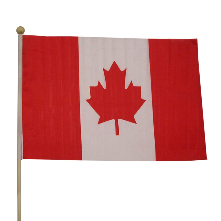 "Canadian Flag <br>12"" x 18""</br>"