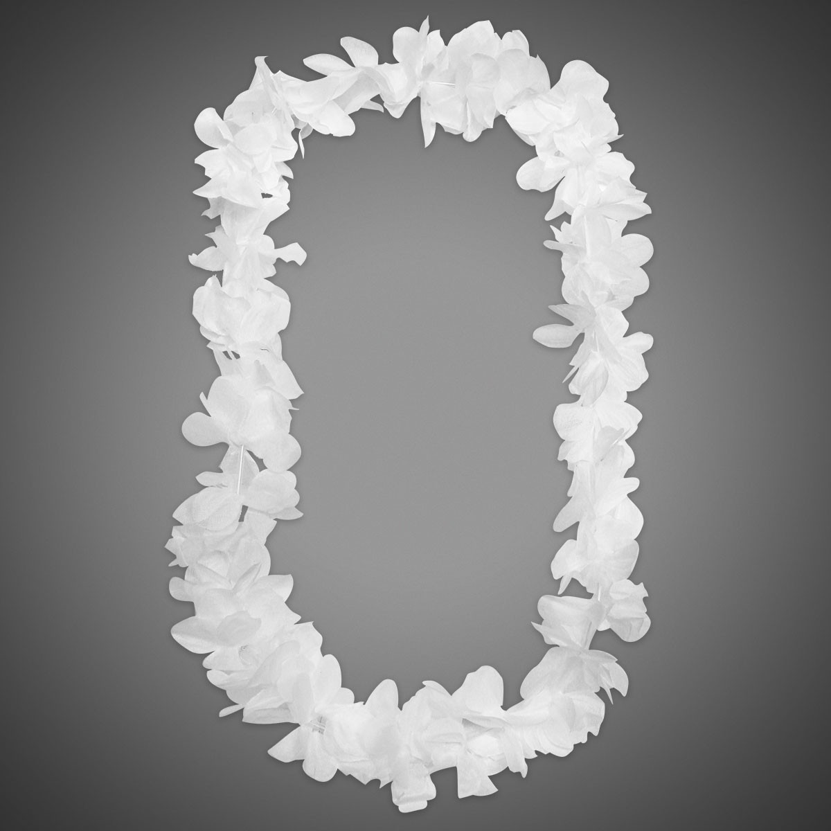 White silk flower leis leis party beads medallions leis and boas white silk flower leis double click on above image to view full picture mightylinksfo Images