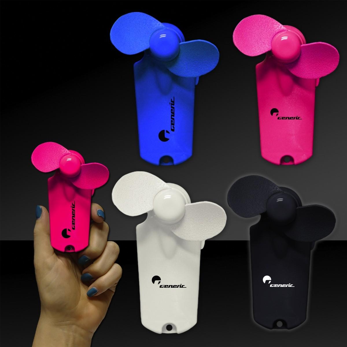 "Handheld Mini Fans - 3 3/4"""