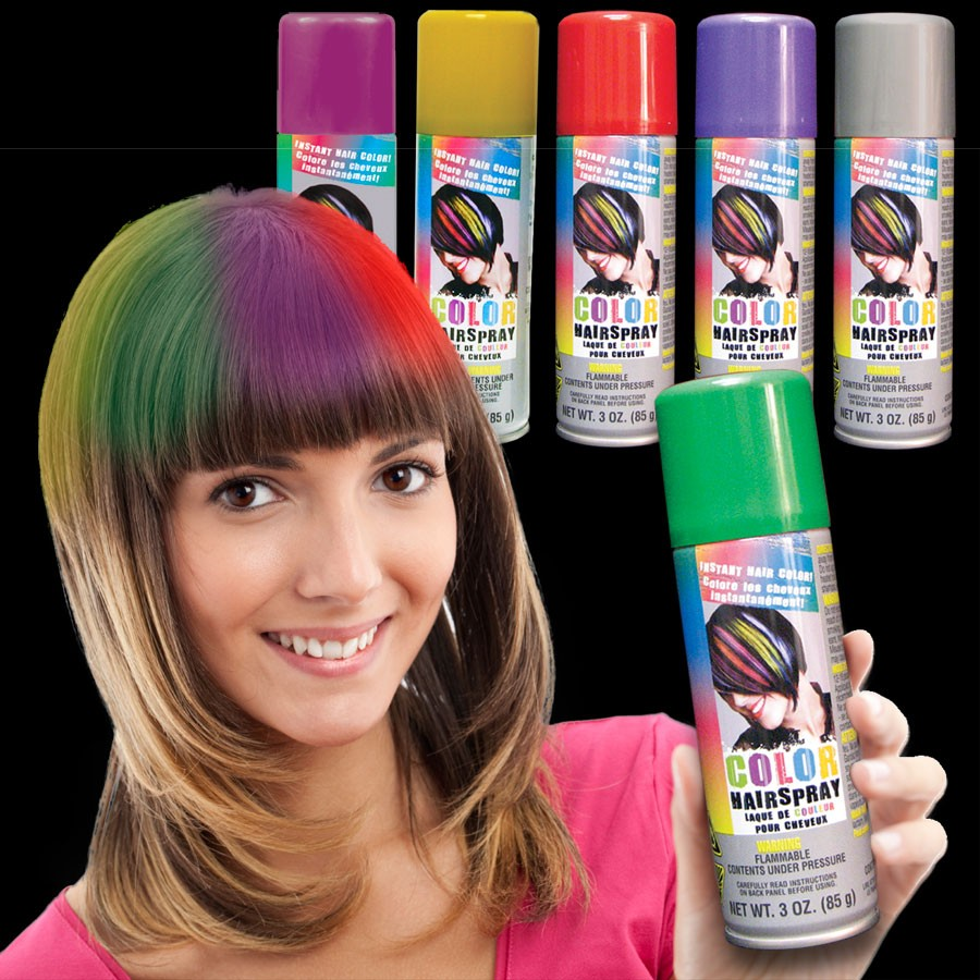Colored Hair Spray Non Light Up Novelties Amp Toys