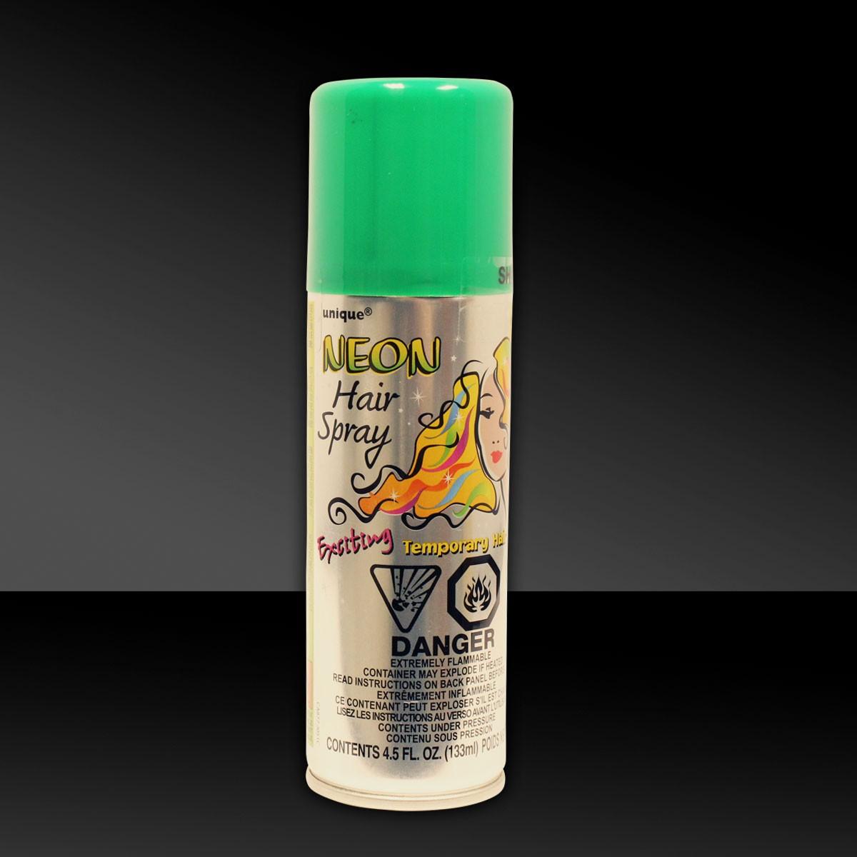 Green Colored Hair Spray