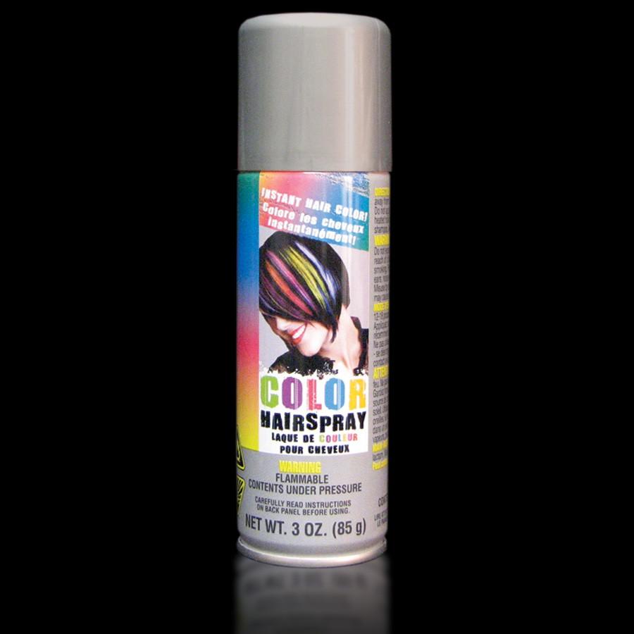 Silver Colored Hair Spray