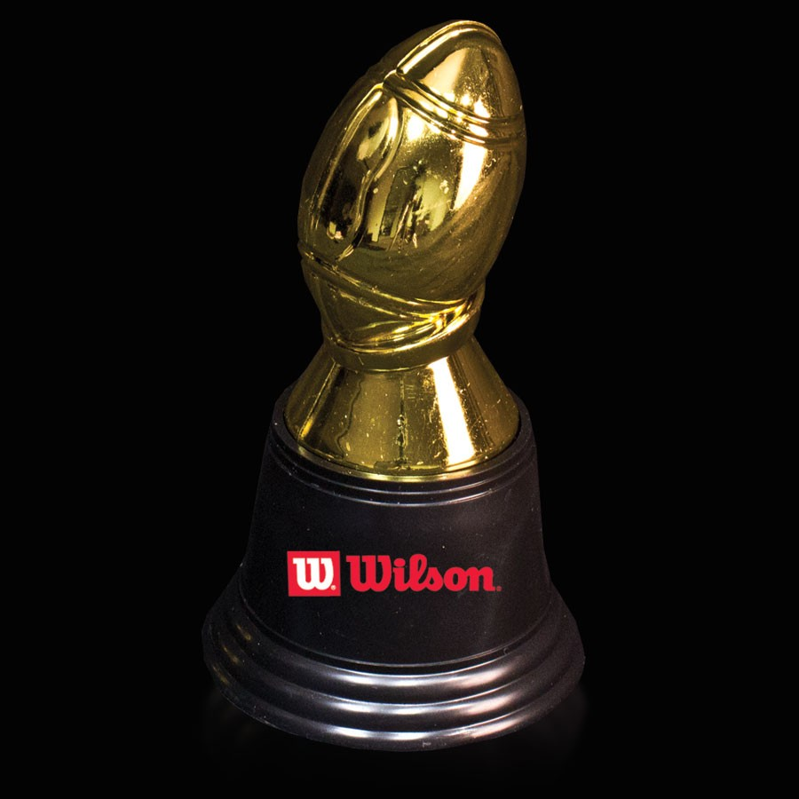 Plastic Football Trophy - 4 3/4 Inch