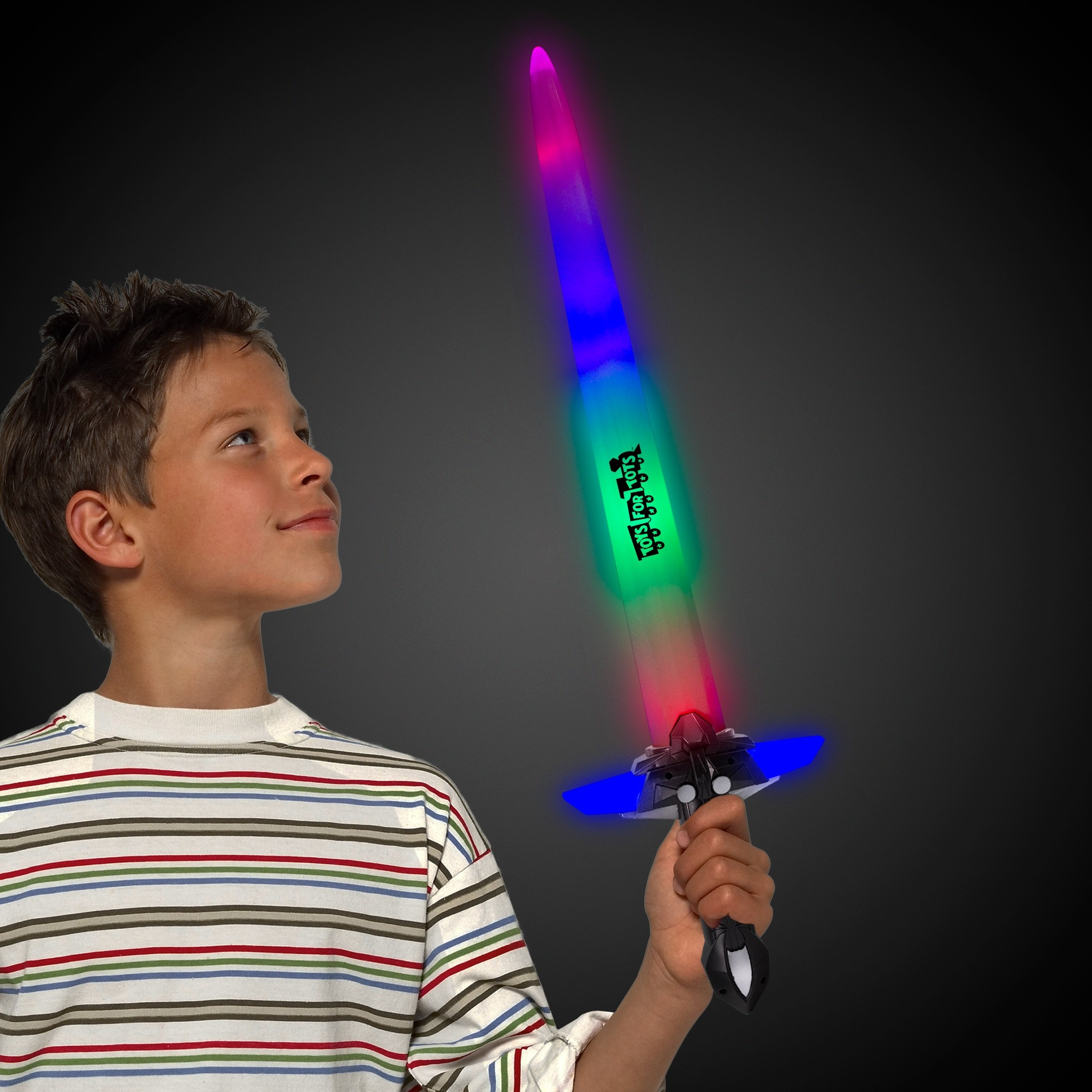 Light Up Sword with Black Handle