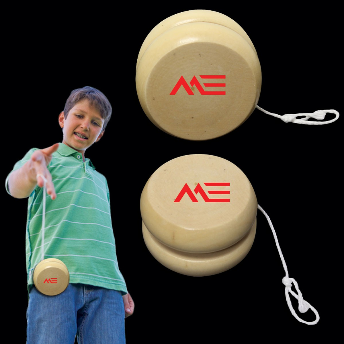 Wooden Yo - Yo - 2 Inch