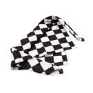 Checkered Flag Bandanas - 20 Inch, 12 Pack