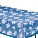 Snowflake Overlay Clear Table Cover