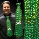 Green Prismatic Plastic Neckties