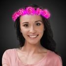 Pink Roses LED Halo Headband