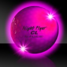 Pink Night Flyer Golf Ball