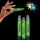 "Green 4"" Premium Glow Sticks"