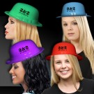 Assorted Color Plastic Derby Hats
