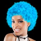 Light Blue Team Spirit Wigs