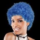 Blue Team Spirit Wigs