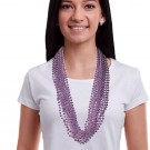 Metallic Light Lavender Beads