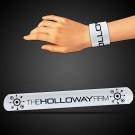 "8 3/4"" White Slap Bracelets"