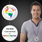 "Pride Love Wins Medallion2 1/2"""