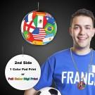 "International Flag Medallions2 1/2"""