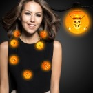 Orange LED Ball Necklace
