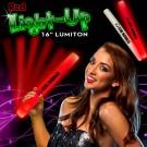 Red LED Foam 16 Inch Lumiton Batons