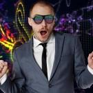 Sound Reactive LED Slotted Glasses