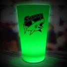 Green LED Pint Glass