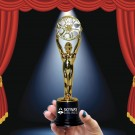 Gold Statue Movie Award - 6 1/4 Inch
