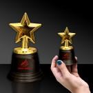 "5"" Gold Star Trophy"