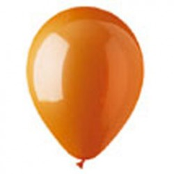 Orange Crystal Latex Balloons - 12 Inch, 100 Pack