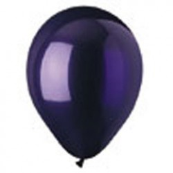 Purple Crystal Latex Balloons - 12 Inch, 100 Pack