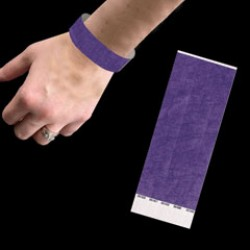 Neon Purple Wrist Bands