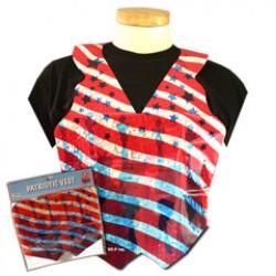 Patriotic Plastic Vest