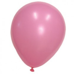 Pink Crystal Latex Balloons - 12 Inch, 100 Pack