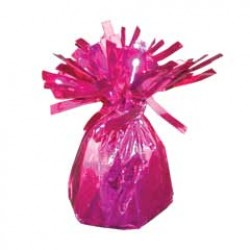 Pink Foil Balloon Weight - 2.5 Inch