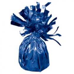 Blue Foil Balloon Weight - 2.5 Inch
